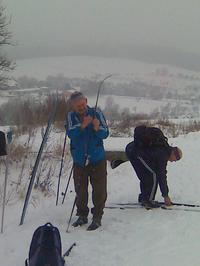 Bílé Karpaty  leden 2012