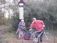 Na kole Nár. párkem Podyjí