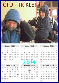 Kalendář Kletru 2014