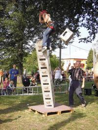 Adrenalinová věž v Hostětíně